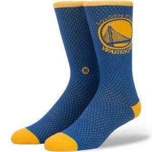 STANCE NBA Golden State Warriors Socks Men's Sz L